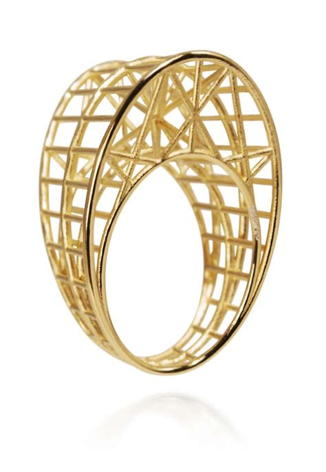 Architecture Design Jewelry Gilded Cages Architectural Jewellery That Will Trap Your