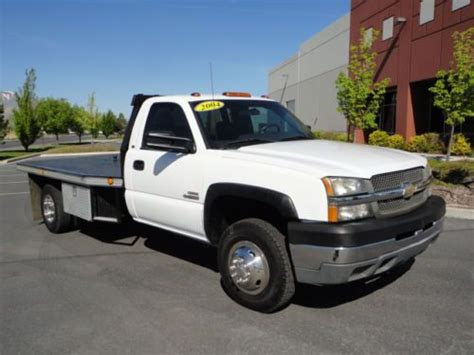 how to fix cars 1994 chevrolet 3500 parking system purchase used 2004 chevrolet silverad0 3500 drw duramax diesel allison 2wd flat bed dump bed in