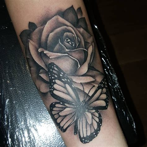 roses with butterflies tattoos 60 amazing butterfly tattoos designs with meanings