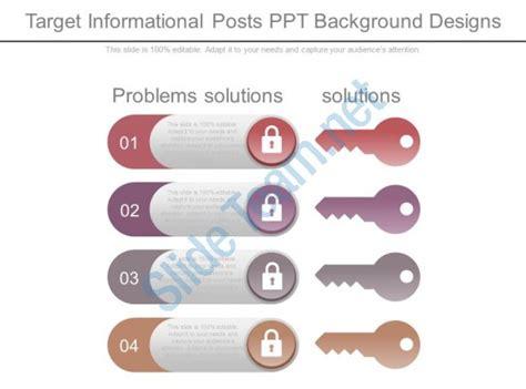Target Background Check Process Target Informational Posts Ppt Background Designs