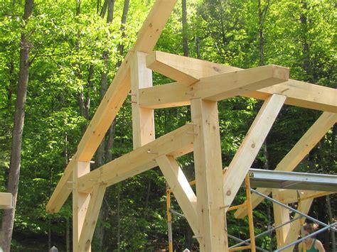 timber frame workshop  shed