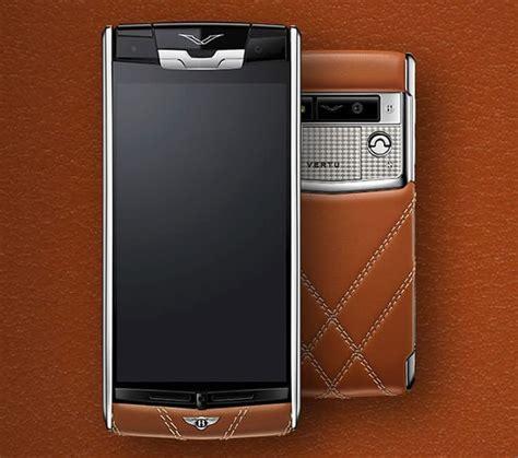 vertu launches luxury smartphone  collaboration  bentley