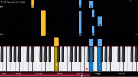 tutorial piano georgia bebe rexha meant to be ft florida georgia line easy