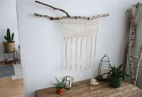 makramee wandbehang selber machen wohnklamotte - Makramee Wandbehang