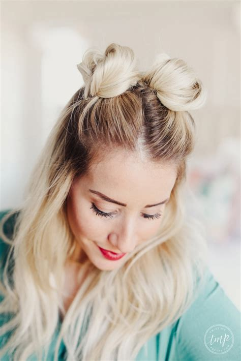 How To Do Hairstyles Buns by How To Do Pretty Buns How To Do Space Buns Twist Me Pretty