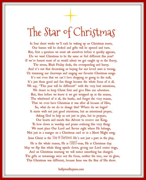 printable children s poems preparing our hearts and homes for christmas free