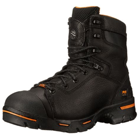 most comfortable work boots for walking on concrete timberland pro men s endurance work boot review