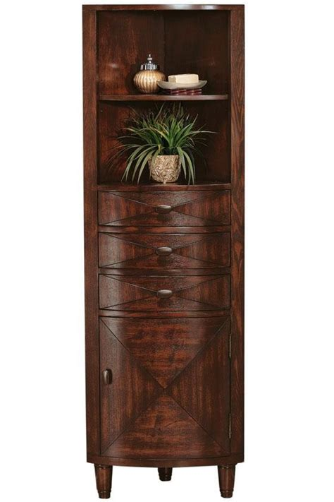 tall corner linen cabinet woodworking projects plans