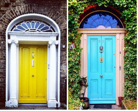 colorful doors a colorful look behind the doors of dublin huffpost