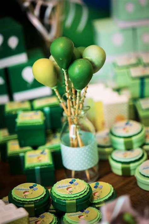 party themes green kara s party ideas 187 green and blue balloon themed