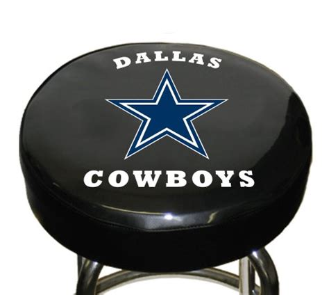 dallas cowboys chair cover nfl dallas cowboys bar stool cover