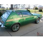 1973 Green AMC Gremlin X  Rare Factory V8