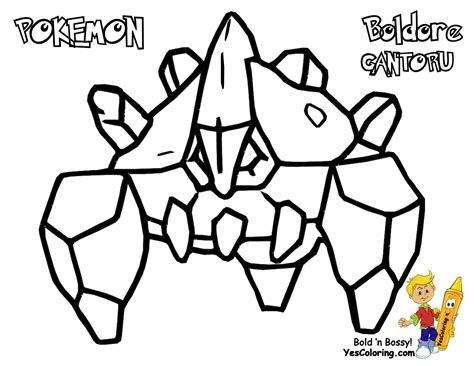 pokemon coloring pages gigalith sharp pokemon black white coloring victini swoobat