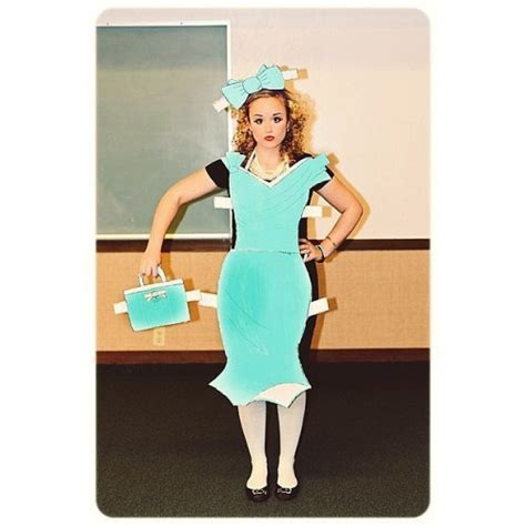 How To Make A Paper Doll Costume - and costumes