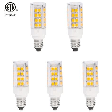 Etl Listed Dimmable Mini Candelabra E11 Base Led Bulb 3 5 Led Mini Light Bulbs