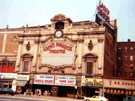 theater bronx paradise theater bronx