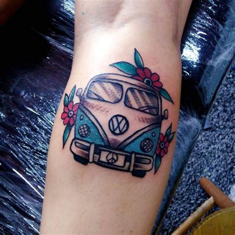 vans tattoo 25 b 228 sta hippie tattoos id 233 erna p 229 liten