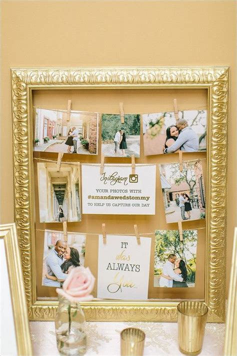 table picture display ideas 30 wedding photo display ideas you ll want to try