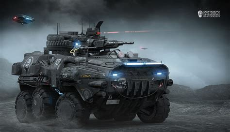 concept armored vehicle apc 1232 a igor sobolevsky on artstation at https