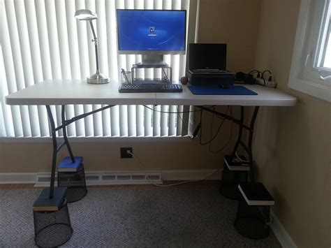 ikea standing desk hack standing desk hacks design decoration