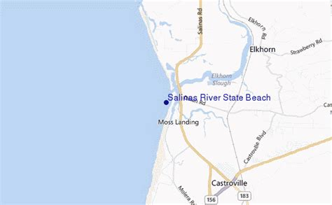 salinas river california map salinas river state surf forecast and surf reports