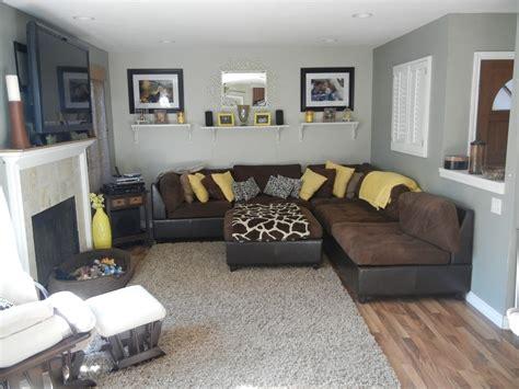 gray  yellow living room  idaho interior design