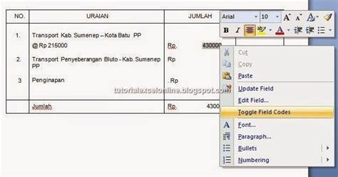 membuat format tanggal di mail merge cara menilkan format angka excel di mail merge word