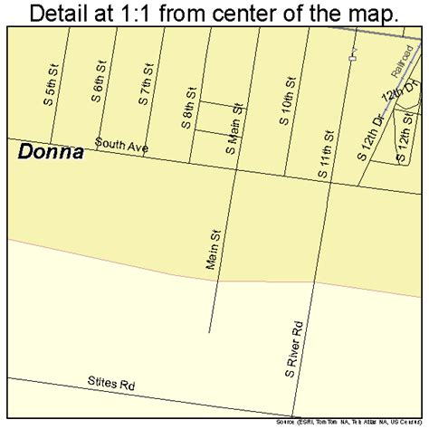 where is donna texas on the map donna texas map 4820884