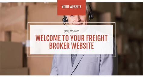 Exle 10 Freight Broker Website Template Godaddy Freight Broker Website Templates