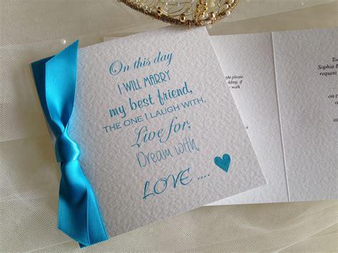 my best friend wedding invitations wedding invites