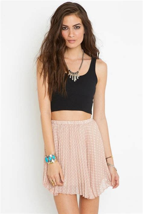 crop top high waisted skirts circle skirts and