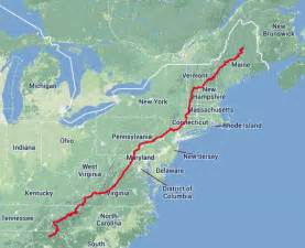 appalachian trail map jurek breaks appalachian trail record