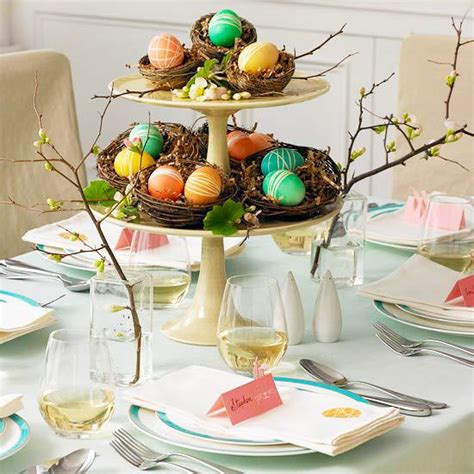 simple easter centerpieces 20 easy easter table decorations and placemats interior design ideas avso org