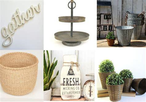 farmhouse decor gift basket 50 farmhouse style gift ideas from etsy the honeycomb home