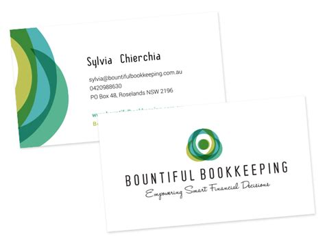 bookkeeper business cards templates 7 best images of bookkeeping business card design