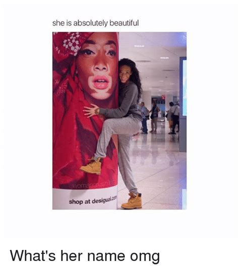 Omg Girl Meme - she is absolutely beautiful shop at desigualcon what s her