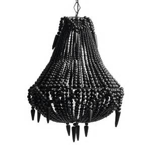 black beaded chandelier black beaded pendant chandelier by out there interiors