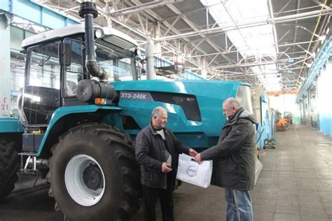 Kharkiv Tractor Plant Produced The First Tractor With A