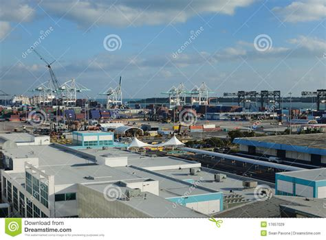 porto di miami porto di miami immagine stock editoriale immagine di