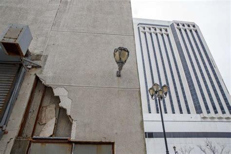 atlantic city mayor tear trump plaza  usa  casino