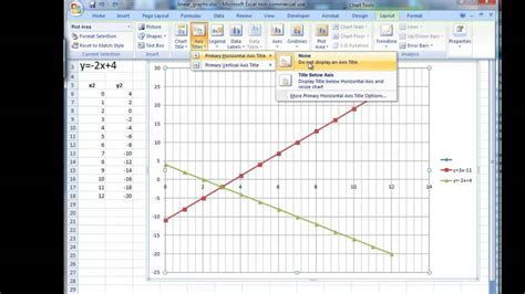 Drawing Y Mx C by 1 Of 1 Linear Simultaneous Equations Excel Matices