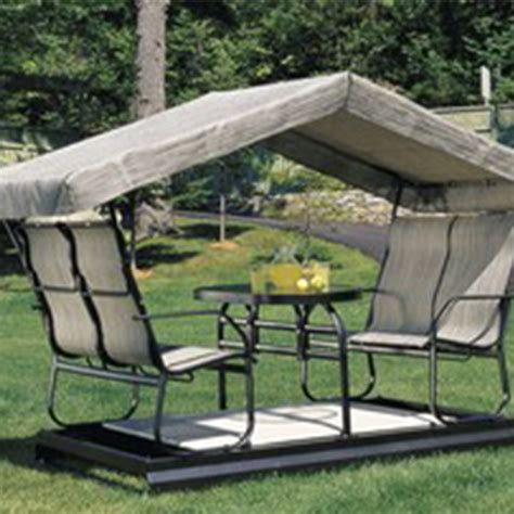 Table Balancoire by Meuble Jardin Patio Qu 233 Bec L 233 Vis Ammeublement Jardin