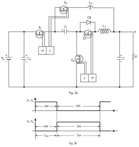 power mosfet diode step dc dc converter eliminates ferrite cores at 50khz enabling power supply on chip with