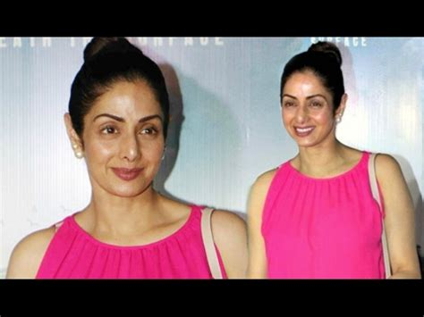 sridevi without makeup sridevi spotted without makeup at irada movie screening