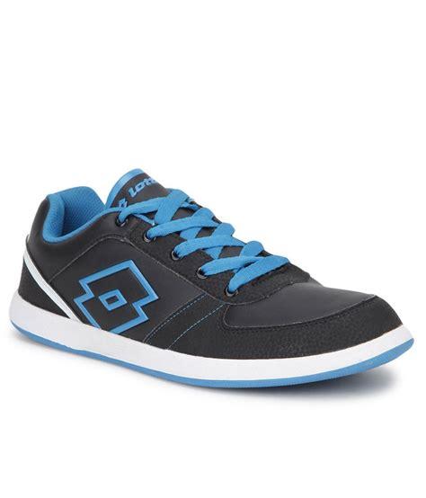 lotto logo plus iii black lifestyle casual shoes buy