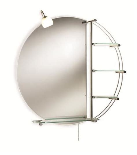 round bathroom mirror with shelf home of ultra magnum round bathroom mirror with light