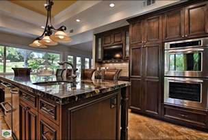 Black And Cream Dining Room - cream kitchen cabinets kitchen traditional with dark