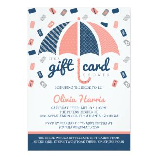 navy blue and coral wedding invitations announcements zazzle