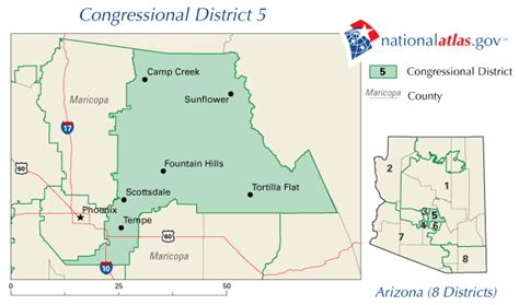map of arizona us congressional districts arizona congressional district 5 map and us rep 112th