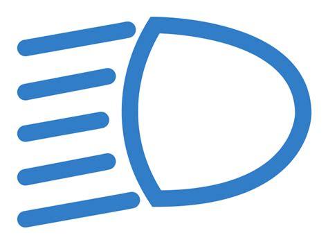 Auto Licht Symbole by Free Clipart Low Beam Light Dblade82